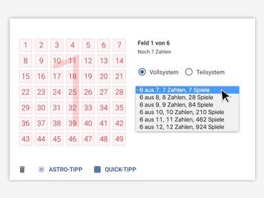 Lotto System Erklarung In 7 Schritten Lotto Hessen