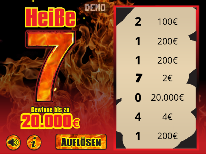 Rubbellose Lotto Gewinn