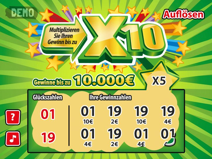 Lotto Hessen Rubbellose