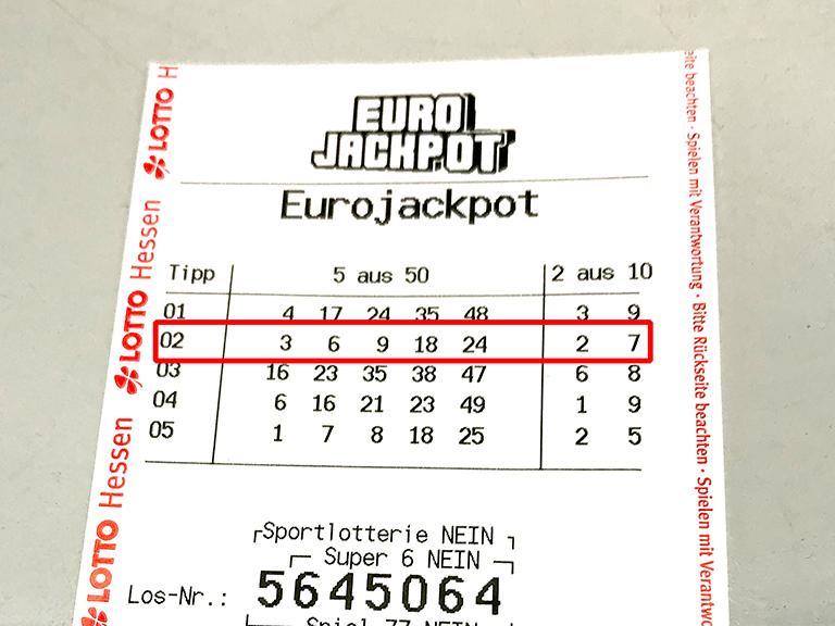 Gewinn Bei Lotto