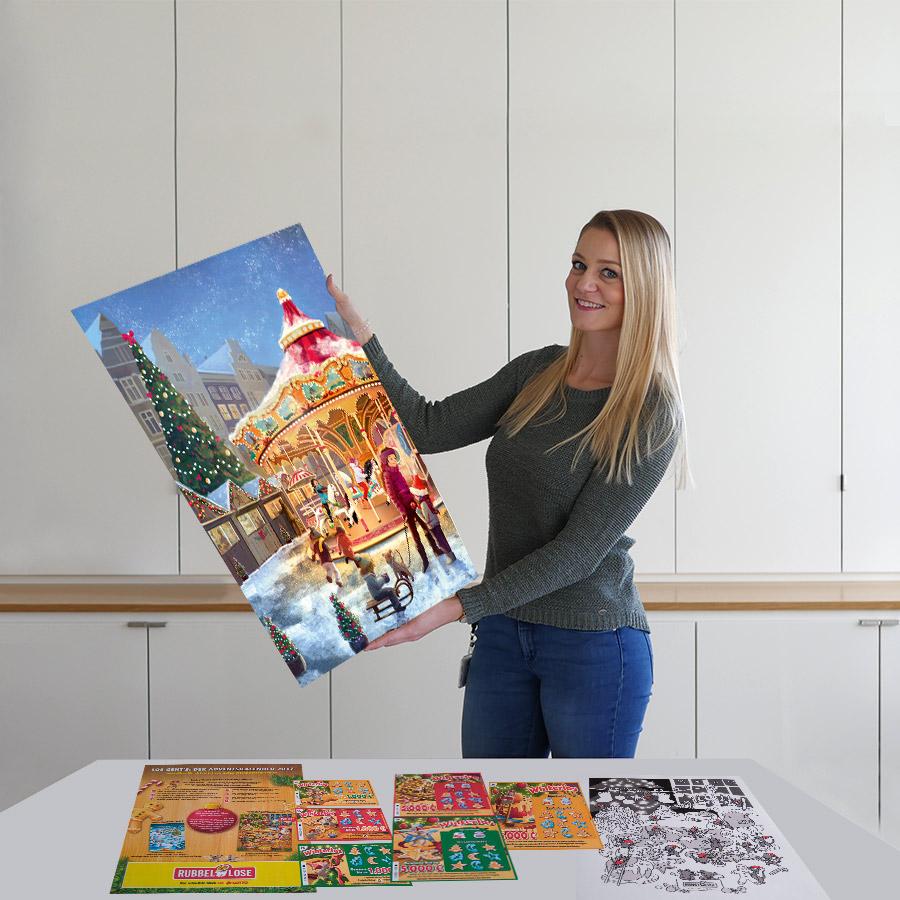 Weihnachtskalender Rubbellose.Rubbellos Adventskalender Die Ganz Besondere Vorfreude Lotto Hessen