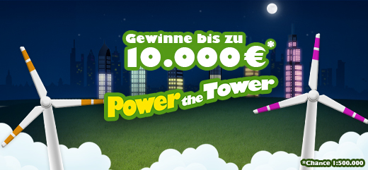 Online-Game Power the Tower