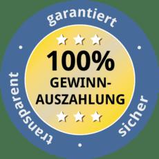 Online Tiefpreis 20 Cent Bearbeitungsgeböhr. 100% Gewinnauszahlung